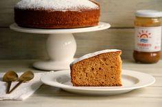 Bizcocho de dulce de leche - MisThermorecetas Sandwiches, Vanilla Cake, A Food, French Toast, Breakfast, Desserts, Walnut Recipes, Pound Cake, Sweet Recipes