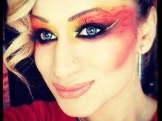 "Hunger Games - Inspired Makeup Tutorial ""Girl on Fire"""