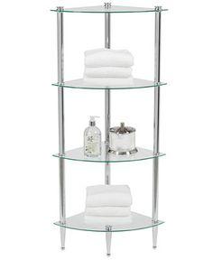 Creative Bath Accessories, 4 Shelf Corner Tower - Bathroom Accessories - Bed & Bath - Macy's