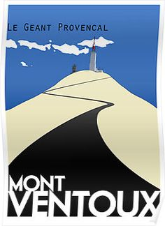 Mont Ventoux by retro travel poster La Provence France, Bike Illustration, Bike Poster, Retro Bike, Bicycle Art, Cycling Art, Cycling Bikes, Vintage Travel Posters, Pin Up