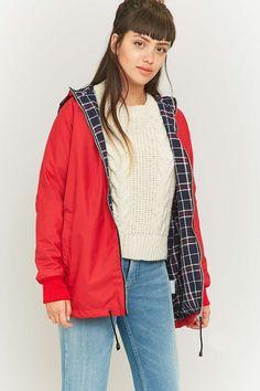Urban Renewal Vintage Surplus Red Anorak - Urban Outfitters