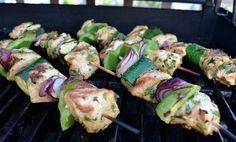 Middle Eastern Turkey Kebabs - Plainville Farms #4thofjulyfood