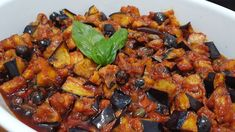 Eggplant Zucchini, Eggplant Dishes, Zucchini Lasagna, Pickles, Zucchini Fritters, Sicilian Recipes, Vegan Dishes, Vegetable Recipes, Food Videos