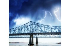 #2 Louisiana is the second most lightning-prone state in the country with an average of more than 827,000 strikes a year. Since 1959 there have been 142 lightning fatalities and the county with the most lightning-related incidents is East Baton Rouge Parish. According to the the SHELDUS map, that tiny county has experienced $2,442,500 in property damage as a result of lightning storms from 1995 to 2009.  -   © Shutterstock