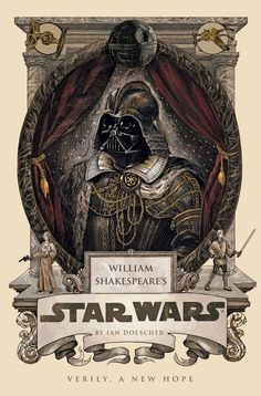 Shakespeare's Star Wars books have awesome cover and interior artwork