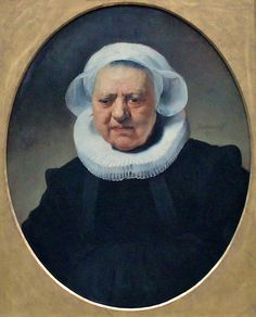 Rembrandt, Portrait of Aechje Claesdr.