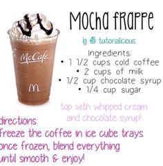 McDonald mocha frappe