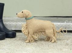 Golden Retriever ∙Free Knitting Pattern