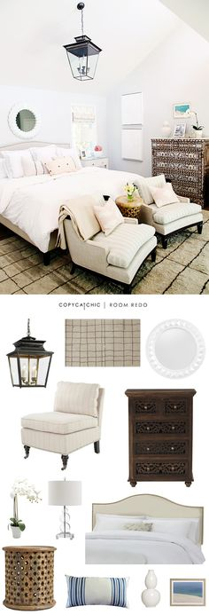 Copy Cat Chic Copy Cat Chic Room Redo Eclectic Ivory Bedroom By