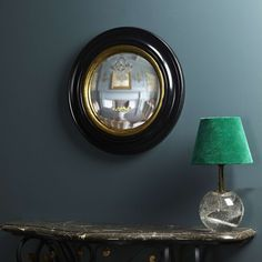 Pooky has launched a range of mirrors – because as they quite rightly say, a strategically placed mirror can do almost as much for lighting a room as a lamp can. The Audrey mirror is small, p… Pooky Lighting, Cornishware, Convex Mirror, Lounge Design, Home Room Design, Shop Lighting, Elle Decor, Lampshades, Decoration