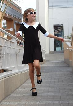 "Designer's Favorite: The Executive. ""This is a great day dress that is as chic as Coco Chanel herself. The white collars and cuffs play on the trend of men's tailored wear,"" says Heather Haas. www.fiveloavestwofishclothing.com"