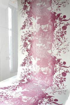 It's all about colours with Kaleido Splatt Panel Fabrics  #design #pattern #print #textiles #interiors