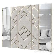 Sliding Door Wardrobe Designs, Wardrobe Design Bedroom, Room Design Bedroom, Wall Panel Design, Wall Decor Design, Bed Headboard Design, Headboards For Beds, Modern Luxury Bedroom, Luxurious Bedrooms