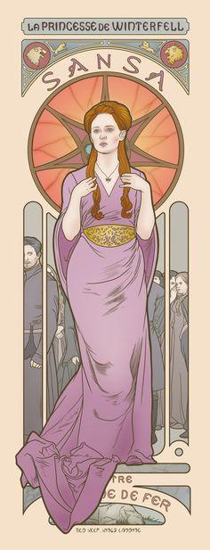 Sansa Stark - Game of Thrones - Elin Jonsson