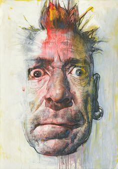 Acrylic on canvas, 140 x 200 cm (55.1 x 78.7 inches).