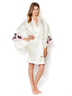 Lolita Silk Kimono Robe