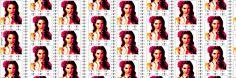 A beautiful girl lana del rey pop art Twitter Headers