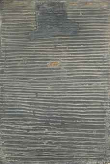 Antoni Tapies, Relief Gris. No. V