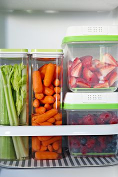 IHeart Organizing: Organization of the Fridge & Freezer Drawer with Tips and Favorite Products