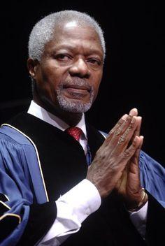 Kofi Annan...