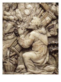 La Vierge apparaissant à saint Bernard - Musée national de la Renaissance (Ecouen)