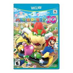 Mario Party 10 selects (Nintendo Wii U) Mario Wii Games, Nintendo Wii U Games, Nintendo Amiibo, Playstation, Xbox, Mini Games, All Games, Super Mario, Microsoft