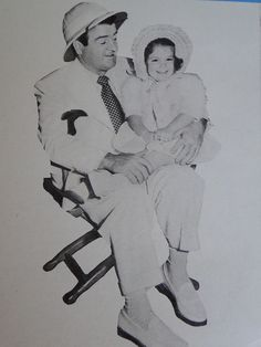 Lou Costello and daughter