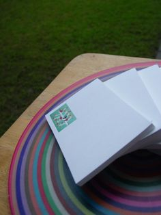 Set of 4 Notepads by paperminties on Etsy, $10.00 My Etsy Shop, Shopping