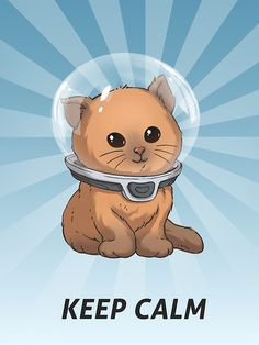 'Keep Calm Kitty' Canvas Print by UnknownWorlds Cute Office, Office Art, Subnautica Creatures, Subnautica Concept Art, Unique Poster, Canvas Prints, Art Prints, Video Game Art, Kawaii