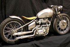 Triumph | Bobber Inspiration - Bobbers and Custom Motorcycles | theroadyeah September 2014