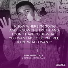 Get inspired with one of these inspring quotes from the greatest of all time, Muhammad Ali. #RIP  | essence.com