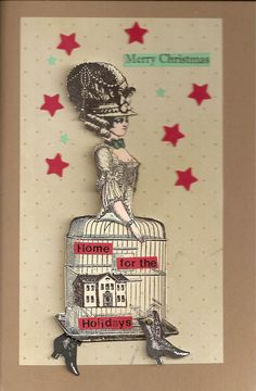 Card by Nancy Gene Armstrong working with stamps from Character Constructions.