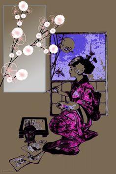 Downloadable Japanese geisha