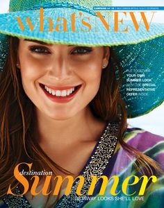 Avon What's New Campaign 14 2015 - see Avon What's New brochures, Avon Demo books, online for representatives for 2015! http://www.makeupmarketingonline.com/avon-whats-new-brochures-online-2015/