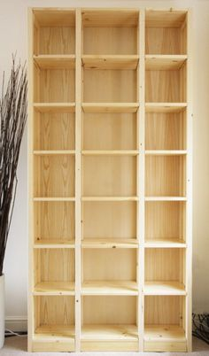 Bookcase for the home