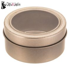 Silver & Clear Favor Tins