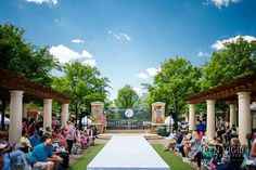 Active Fashion Division set the stage for this spring collection runway show under the blue sky. Fashion Events, Outdoor Events, Spring Collection, Staging, Division, Atlanta, Fashion Show, Runway, Sky