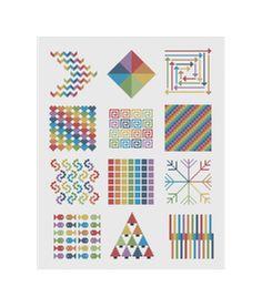 Free Cross Stitch Quilt Block Patterns No Color Chart