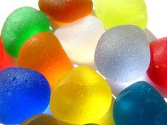 Sea glass rainbow. Technically litter, but it still captures my imagination!