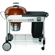 Weber Performer Premium 22 Inch Charcoal Grill On Cart - Copper