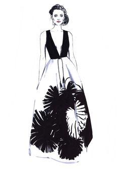 Fashion illustration // Diana Kuksa