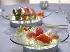 5 Ideas for LED Centerpieces - Light Up Food Presentation - mazelmoments.com