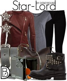 An awesome outfit inspired by Star Lord from Guardians of the Galaxy