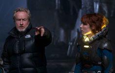 Prometheus 2 é o próximo filme de trabalho de Ridley Scott, após o lançamento de sua adaptação do livro Perdido em Marte, no dia 2 de outubro de 2015.