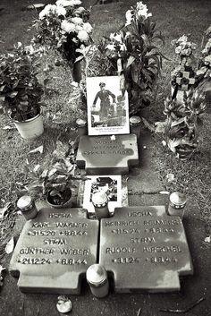 SS-Hauptsturmführer Michael Wittmann's grave at la Cambe (Calvados, Normandy, France) cemetery