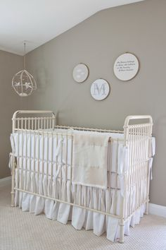 less is more | Nursery Room Tour: 10 Photos Inside A Cozy Twin Gender Neutral Nursery