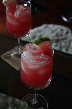 Ginger Watermelon Summer Cooler