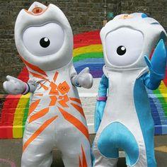 Olympics London 2012, the mascots!