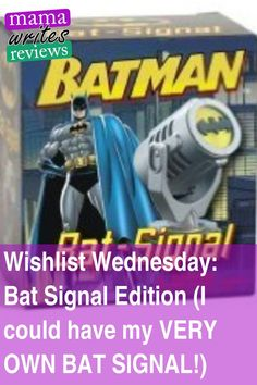 It's that time of the week again! Wishlist Wednesday, where I find something cool or awesome that I NEED to have and I share it with you! Up this week: