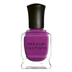 Deborah Lippmann Between the Sheets (15ml) ($20) ❤ liked on Polyvore featuring beauty products, nail care, nail polish, shiny nail polish, deborah lippmann nail polish, deborah lippmann nail color, deborah lippmann nail lacquer and deborah lippmann